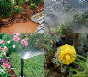 Télikerti növények öntözése